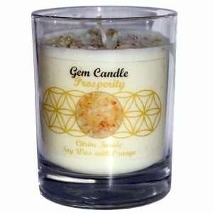 Gemstone Crystal Candles